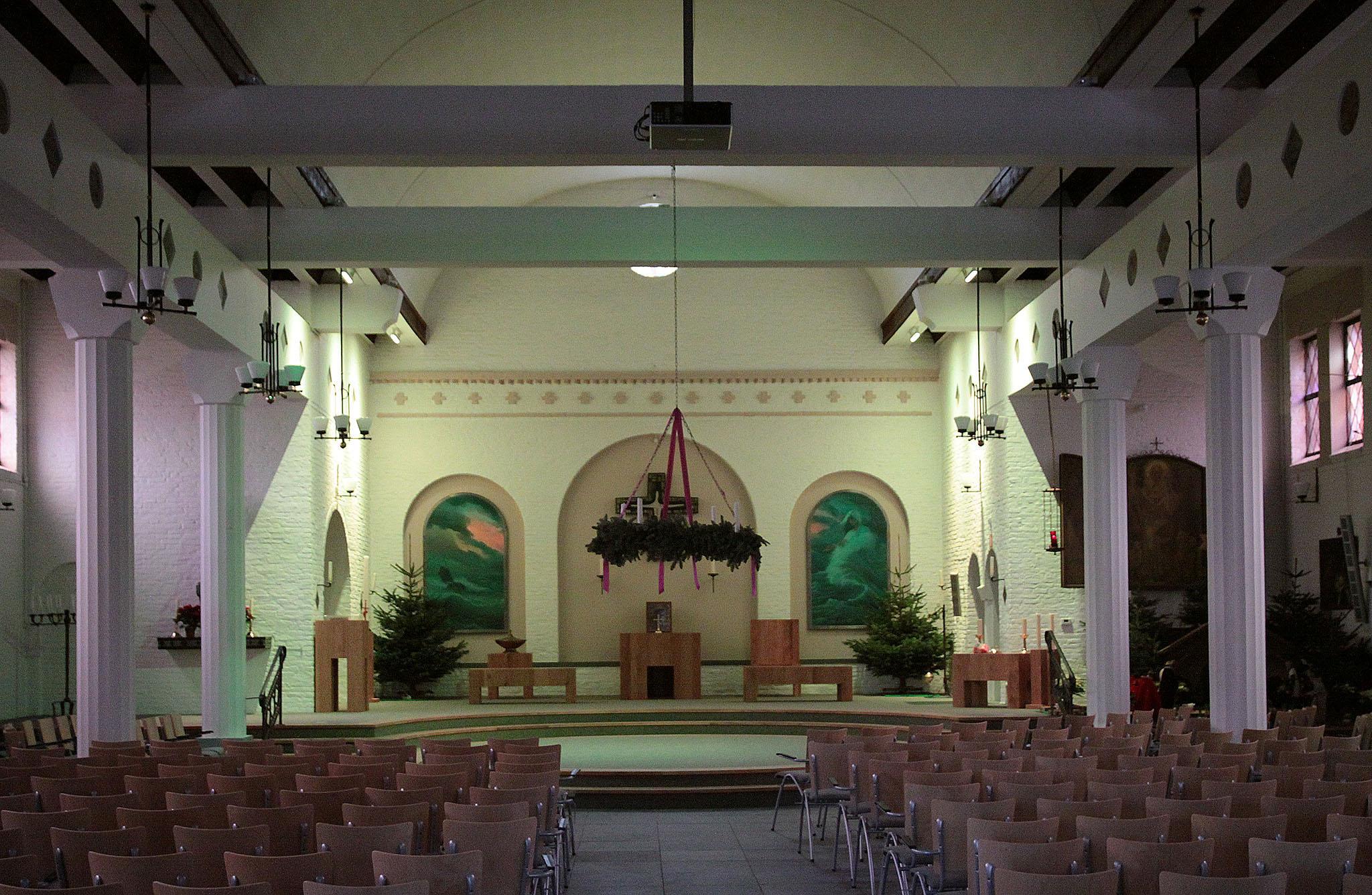 Burlight projecten   verlichting Kerk te Noordwijk